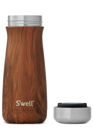 S'Well Teakwood Traveller 470ml image 3 - The Sports Edit