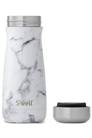 S'Well White Marble Traveller | 470ml image 3 - The Sports Edit