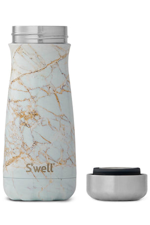 S'Well Calacatta Gold Marble Traveller | 500ml image 3 - The Sports Edit