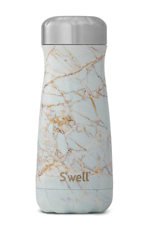 S'Well Calacatta Gold Marble Traveller | 500ml image 2 - The Sports Edit