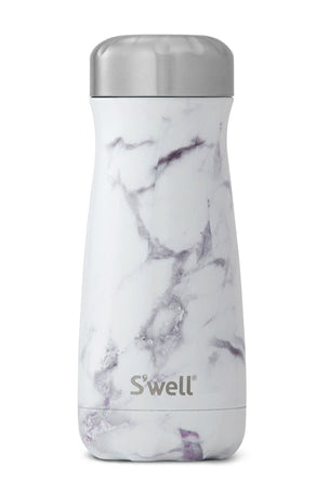 S'Well White Marble Traveller | 470ml image 2 - The Sports Edit