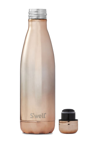 S'Well Ombre Metallic Rose Gold | 500ml image 2 - The Sports Edit