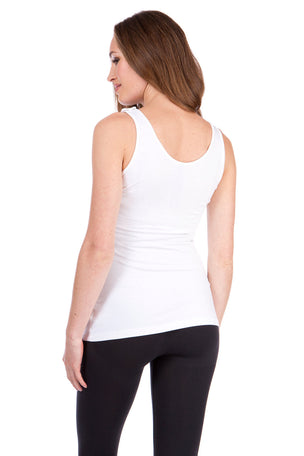 Seraphine Maternity & Nursing Tops - Black & White Twin Pack image 2 - The Sports Edit