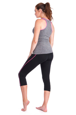 Seraphine The 2 Piece Active Kit - Black/Grey image 4 - The Sports Edit