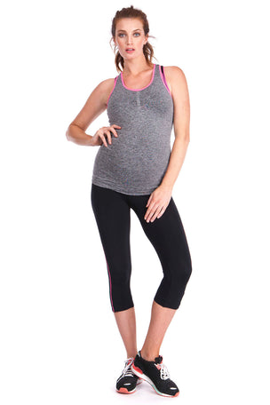 Seraphine The 2 Piece Active Kit - Black/Grey image 2 - The Sports Edit