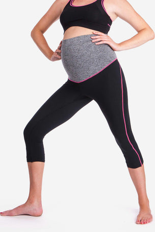 Seraphine The 2 Piece Active Kit - Black/Grey image 5 - The Sports Edit