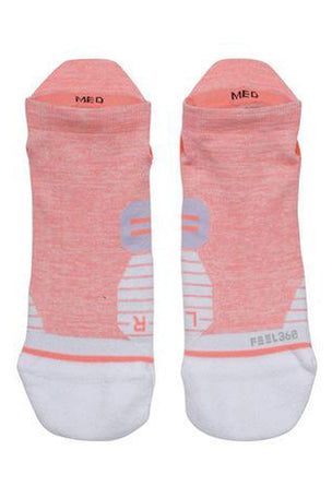 Stance Uncommon Solids Tab - Coral image 2 - The Sports Edit