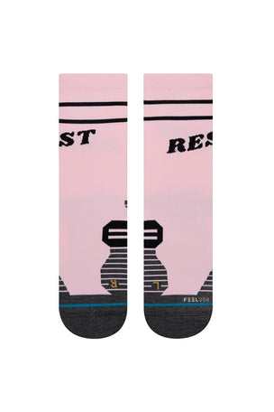 Stance Fool Hardy Crew - Pink image 2 - The Sports Edit