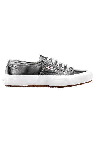 Superga 2750 Cotmetu - Grey Metallic image 1 - The Sports Edit