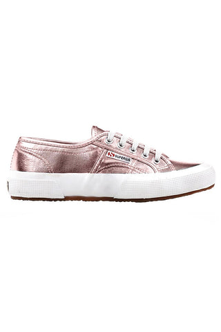 Superga 2750 Cotmetu - Rose Gold image 1 - The Sports Edit