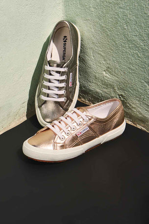 Superga 2750 Cotmetu - Rose Gold image 3 - The Sports Edit