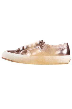 Superga 2750 Cotmetu - Rose Gold image 2 - The Sports Edit