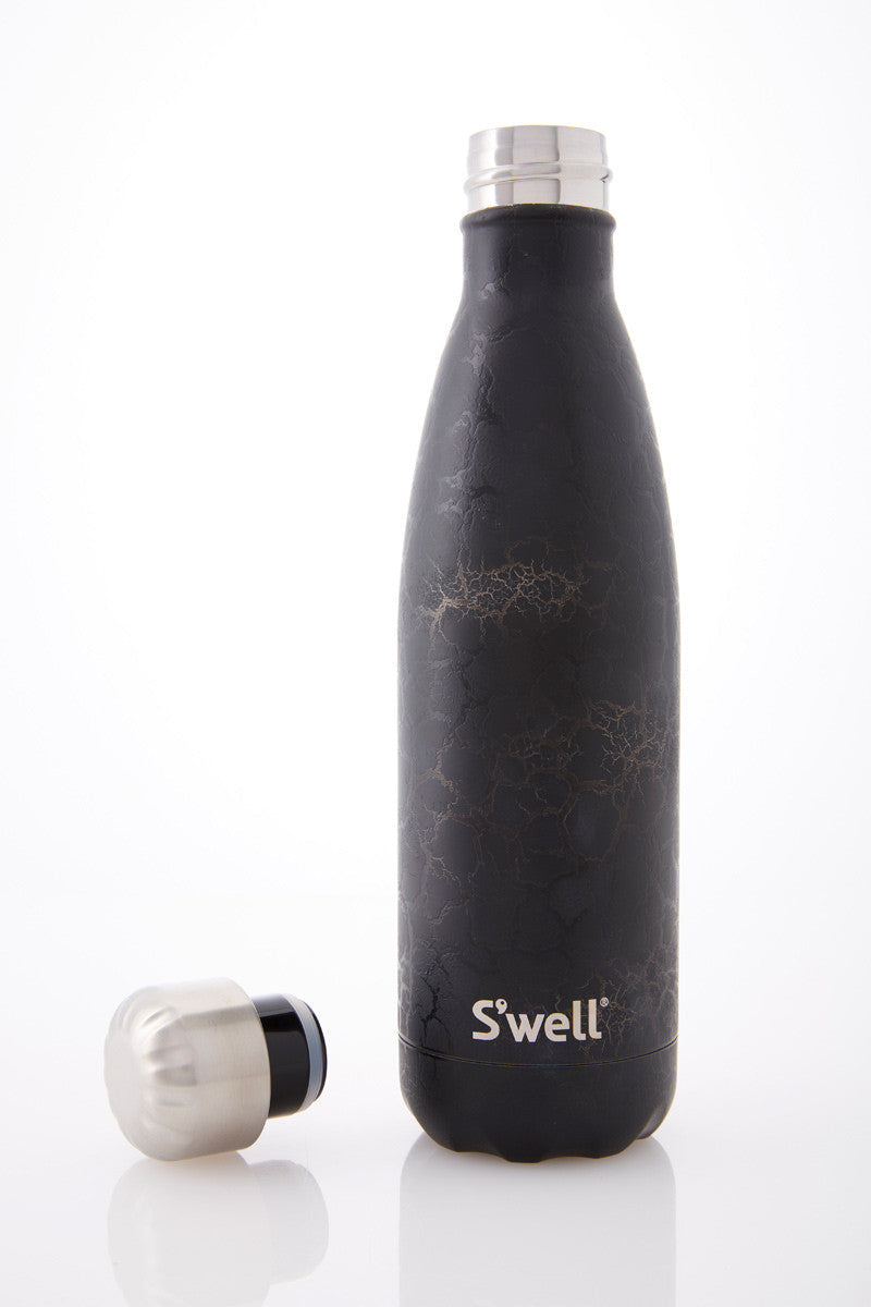 S'Well S'well Black Crackle 500ml image 1