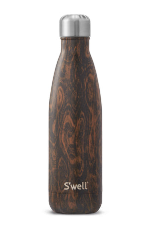 S'Well Wenge Wood Water Bottle | 500ml image 1 - The Sports Edit