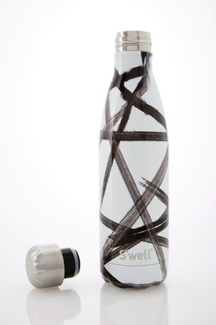 S'Well Black Ribbon Water Bottle | 500ml image 2 - The Sports Edit