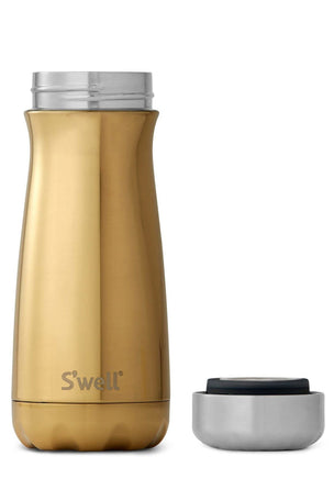 S'Well Yellow Gold Traveller | 470ml image 2 - The Sports Edit