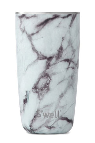 S'Well White Marble Tumbler | 510ml image 2 - The Sports Edit