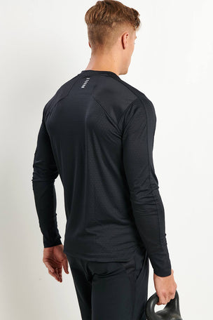 Under Armour HexDelta Long Sleeve Running T-Shirt image 2 - The Sports Edit