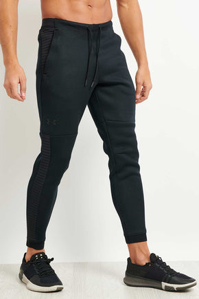 7d4fcdadaaa4 Under Armour Unstoppable Jogging pants - Black image 1 - The Sports Edit