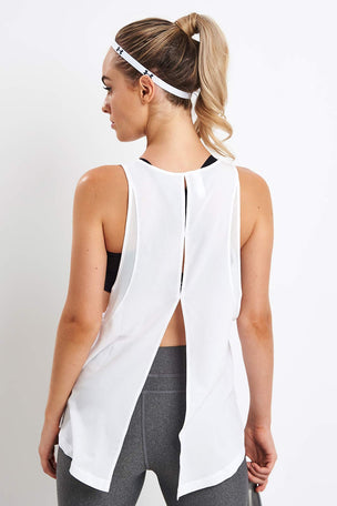 Under Armour Perpetual Woven Tank image 2 - The Sports Edit