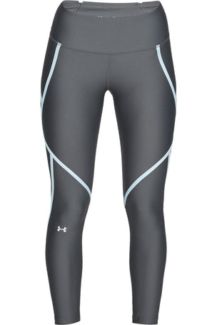 Under Armour HeatGear® Armour Edgelit Ankle Crop - Grey/Blue image 4 - The Sports Edit