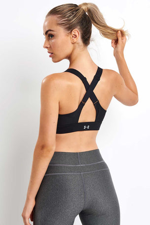 Under Armour Vanish High Zip Bra image 2 - The Sports Edit