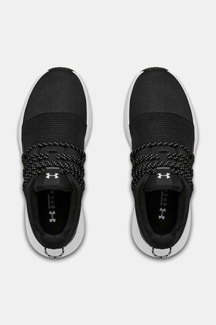 Under Armour Charged Breathe Lace Sportstyle Shoes - Black image 3 - The Sports Edit