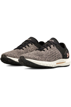 Under Armour UA HOVR Sonic Running Shoes - Black/Ivory image 2 - The Sports Edit