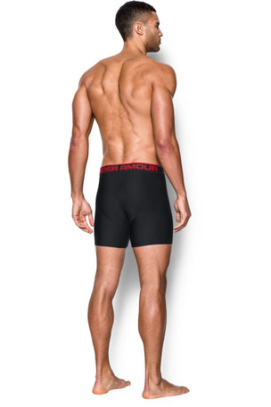 "Under Armour UA Original Series 6"" Boxerjock 2 Pack- Black image 2 - The Sports Edit"