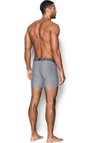 "Under Armour UA Original Series 6"" Boxerjock 2 Pack - Grey image 4 - The Sports Edit"