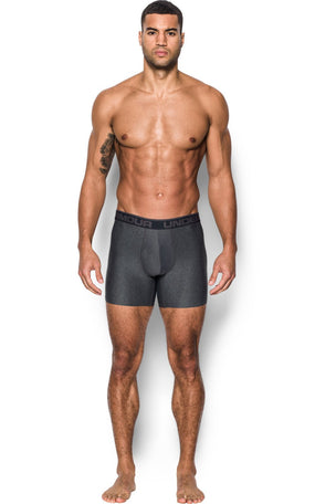 "Under Armour UA Original Series 6"" Boxerjock 2 Pack - Grey image 3 - The Sports Edit"