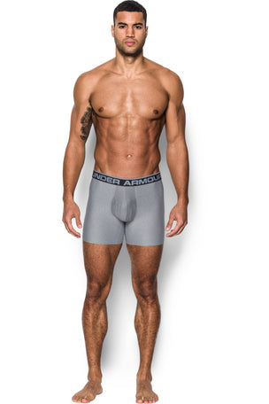 "Under Armour UA Original Series 6"" Boxerjock 2 Pack - Grey image 2 - The Sports Edit"