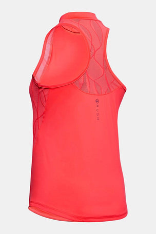 Under Armour RUSH Vent Tank - Red image 5 - The Sports Edit