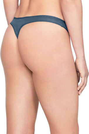 Under Armour UA Pure Stretch Thong - Blue image 4 - The Sports Edit