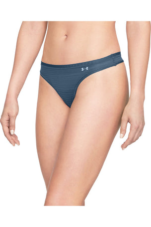 Under Armour UA Pure Stretch Thong - Blue image 2 - The Sports Edit