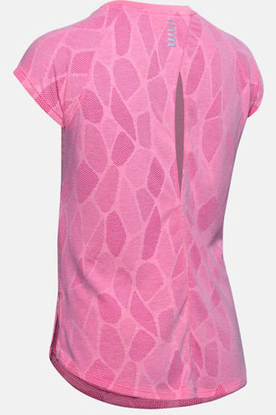 Under Armour Streaker 2.0 Shift Short Sleeve - Pink image 6 - The Sports Edit