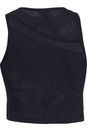 Under Armour Warrior Knit Tank - Black image 5 - The Sports Edit