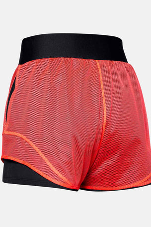 Under Armour Warrior Mesh Shorts - Black/Beta image 6 - The Sports Edit