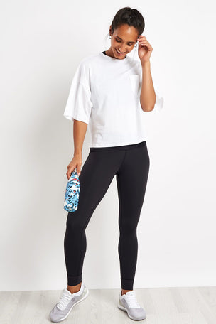 Reebok Training Supply Pocket Tee - White image 4 - The Sports Edit