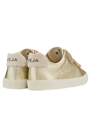 Veja Esplar Leather 3 Locks Gold - Women's image 4 - The Sports Edit