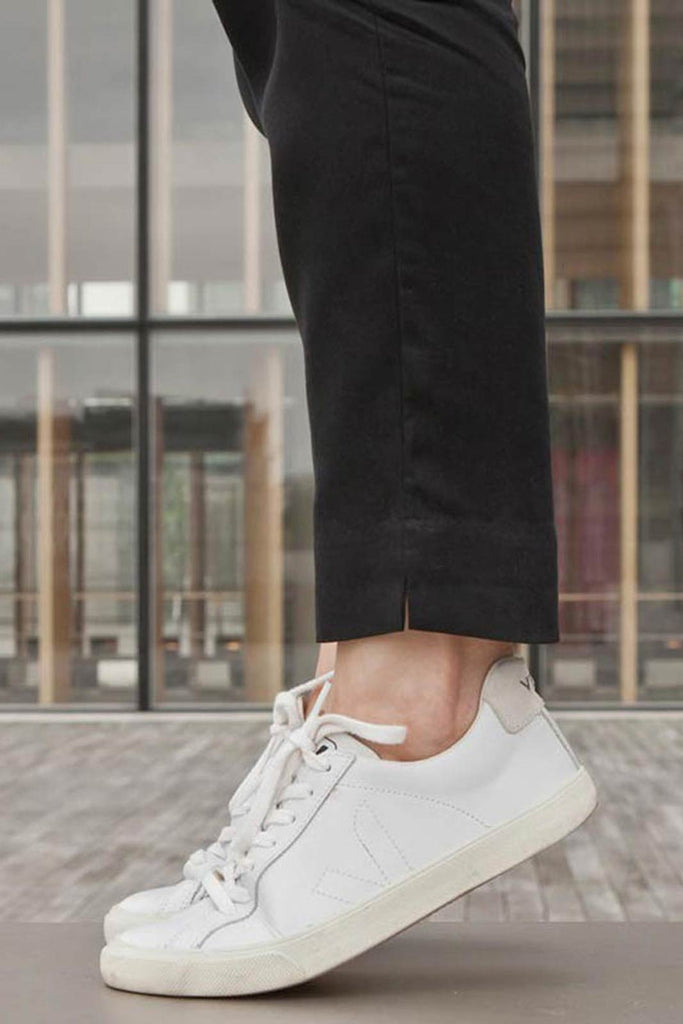detailed images great deals sleek Veja | Esplar Leather White Trainers - Women's – The Sports Edit