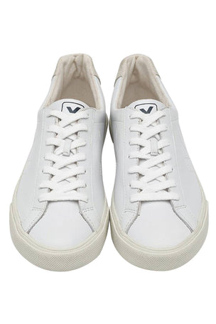 Veja Esplar Leather White Trainers | Men's image 3 - The Sports Edit