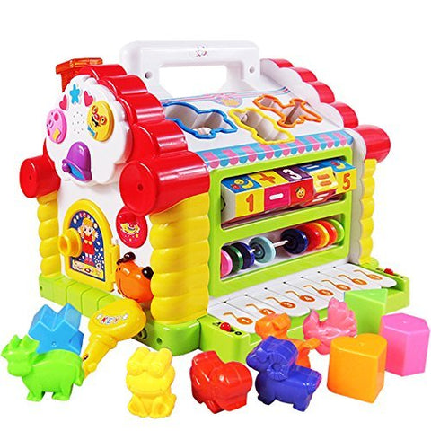 GoAppuGo Amazing Learning House - Baby Birthday Gift for 1 2 3 year old baby