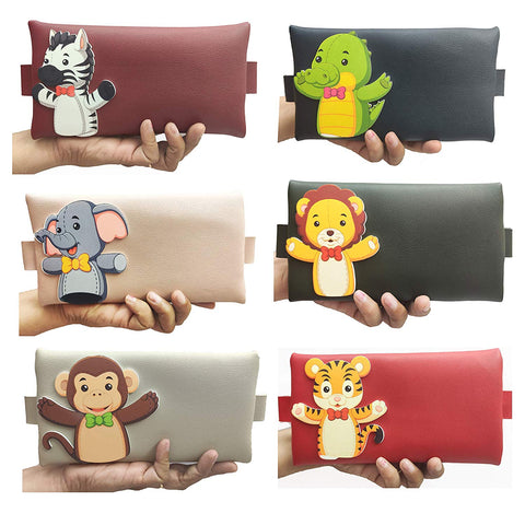 GoAppuGo Pack of 6 Fancy Pouches for Kids - Birthday Return Gifts for Kids