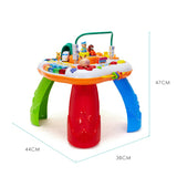 GoAppuGo Mutlifunctional kids activity table with train with music, piano for babies