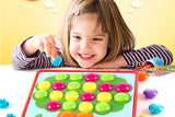 GoAppuGo Activity Toys - Large Buttons - Match Colors and Complete the Vehicles (set of 10)