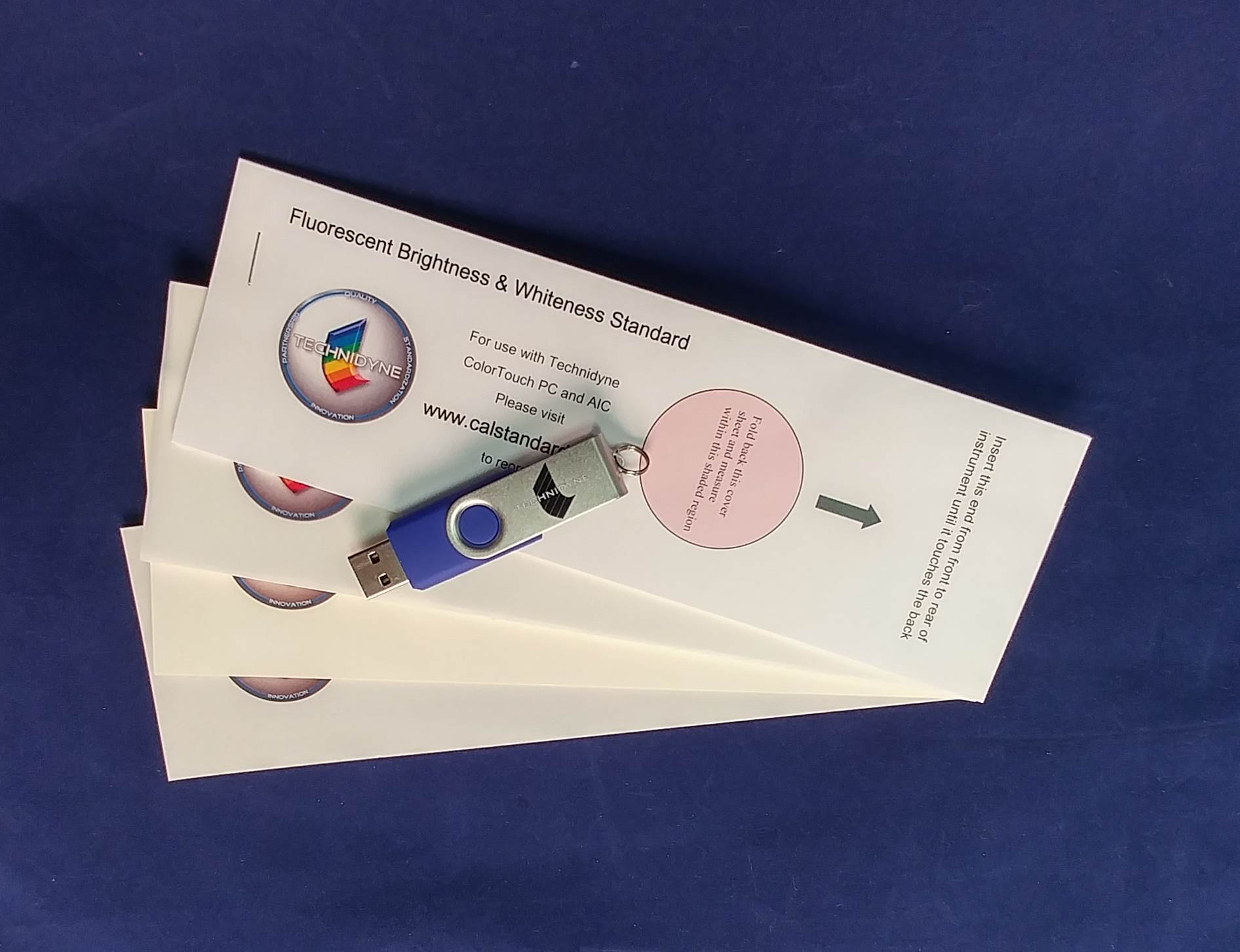 ColorTouch PC - ISO Spectrophotometric Calibration and Verification Standards Kit (IR3 Level) (CCIETB25)
