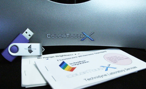 ColorTouchX/QC - ISO Calibration and Spectrophotometric Verification Kit (IR3 Level) - (CXIELS25)