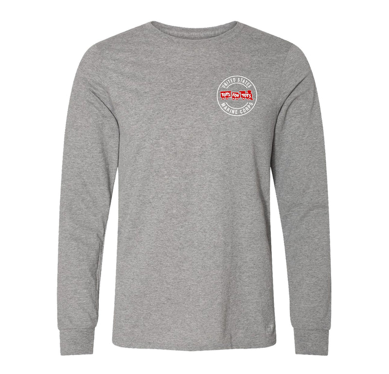 Russell Athletic Circle TFT Train Long Sleeve TFT Shirt marinecorpsdirecttft S OXFORD