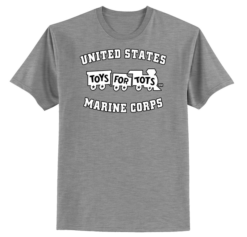 White/Black TFT Train Kids T-Shirt TFT Shirt marinecorpsdirecttft XS SPORT GRAY